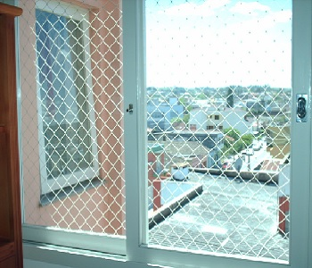 rede de proteção janela