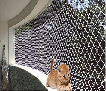 Proteção para gatos com telas de proteção