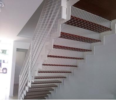 Redes de proteção em escada